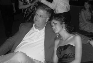Amy and Dad. May, 2012