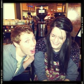 Patrick and I, circa 2011